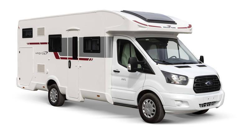 Autotramp ŁomżaDo wyboru są cztery rodzaje kamperów: Ford Kronos, Fiat Ducato, Peugeot Boxer, Volkswagen Krafter. CennikCeny kształtują się od 290 do