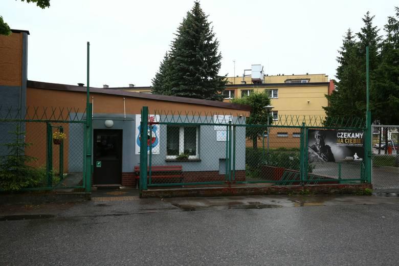Współczesny widok strzelnicy przy ul. Orzeszkowej.