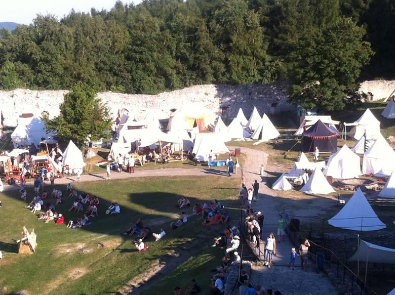 Turniej rycerski na Zamku Ogrodzieniec w Podzamczu