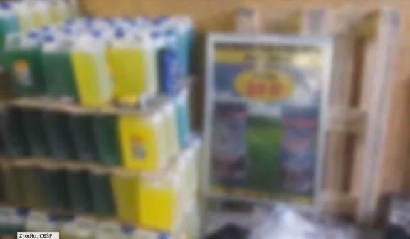 Tony podrobionego proszku do prania i płynów do mycia zostały zarekwirowane. Niestety towar już zalał targowiska i sklepy w całej Polsce, bo jest tańszy