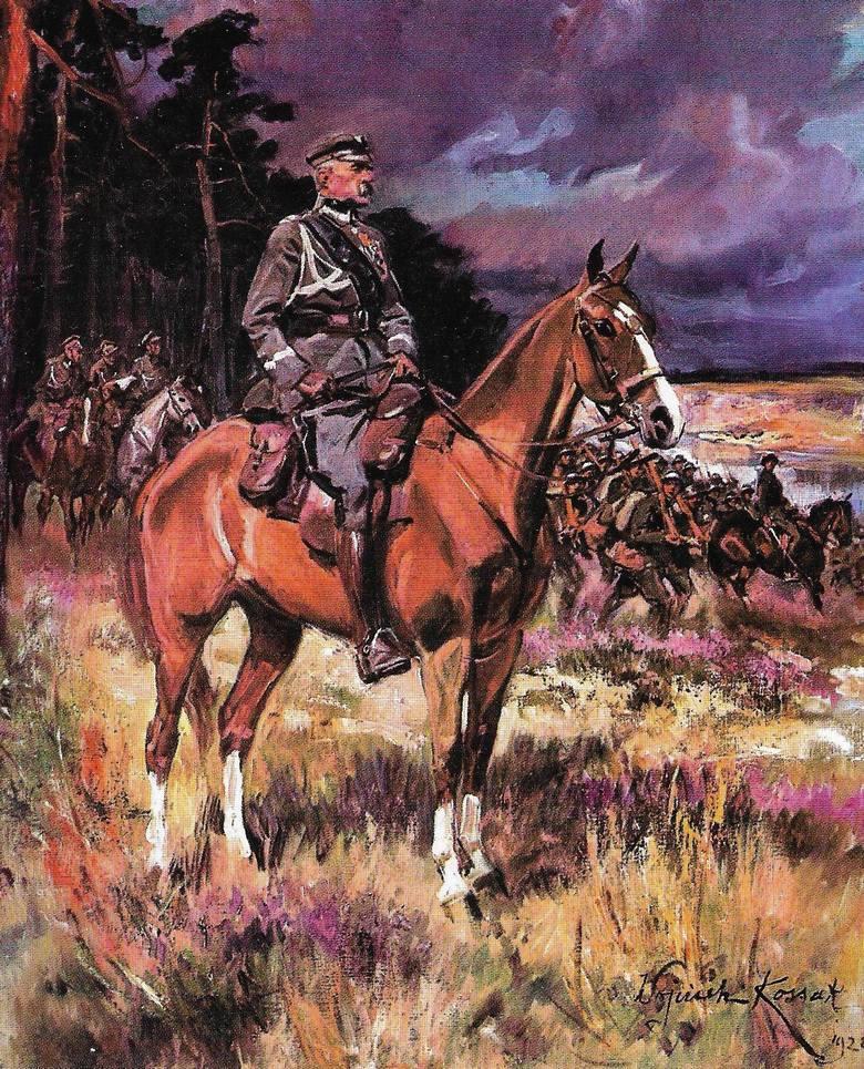 Słynny portret Marszałka