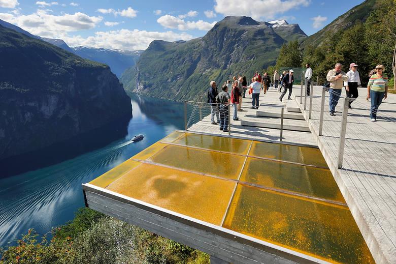 Droga Trolli to jedna z największych atrakcji Norwegii