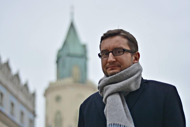 Michał Karapuda, dyrektor miejskiego wydziału kultury.