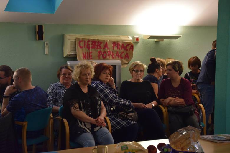 Strajk w DPS Częstochowa
