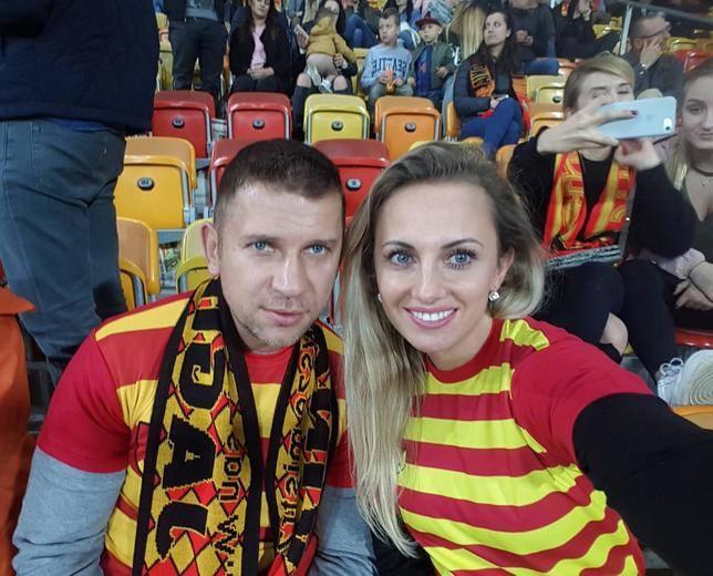 Marcin Siegieńczuk z żoną DominikąFani wzdychają do wielu z nich. Na ich nieszczęście, gwiazdy disco polo z podlaskiego i Polski już mają wybranków swojego