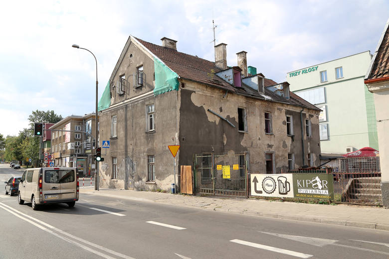 Kamienica przy ul. Sienkiewicza 55 w Białymstoku została rozebrana