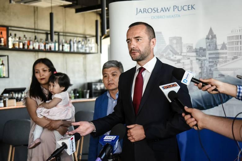 Radca prawny i były prezes ZKZL Jarosław Pucek ogłosił, że powalczy jesienią o fotel prezydenta Poznania