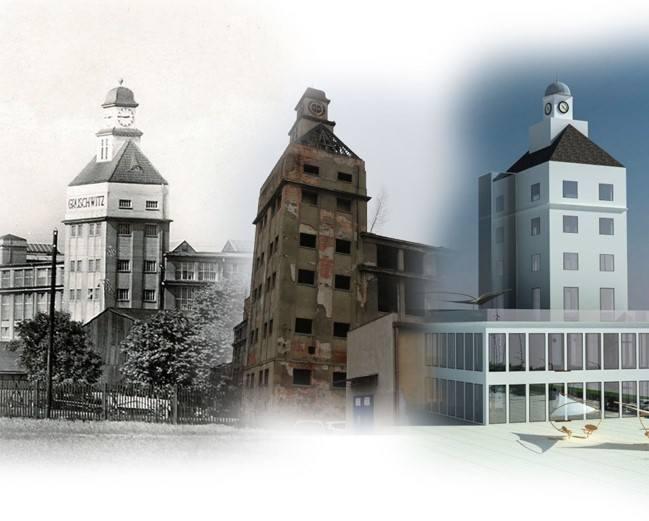 Wizualizacje dawnej Fabryki Nici Odra