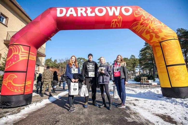 Wśród uczestników biegu znaleźli się także uczniowie Zespołu Szkół Morskich w Darłowie.  - W Biegu Tropem Wilczym uczestniczyli Klaudia Stefaniak, Klaudia
