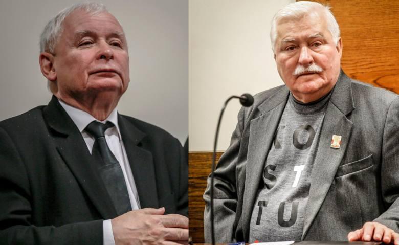 Zarówno Lecha Wałęsy, jak i Jarosława Kaczyńskiego zabrało 22.07.2019 na sali sądowej. Na zdjęciu: politycy podczas rozprawy w dn. 22 listopada 2018