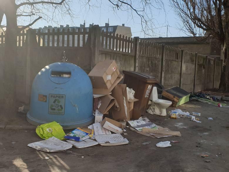 Ludzi na ulicach coraz mniej, ale śmieci nie ubywa - miasto znów tonie w odpadach (zdjęcia)