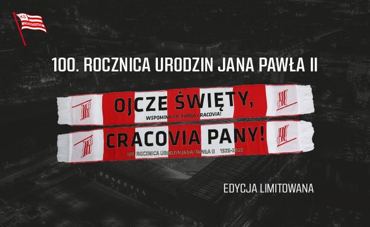 Cracovia wypuściła serię limitowanych szalików