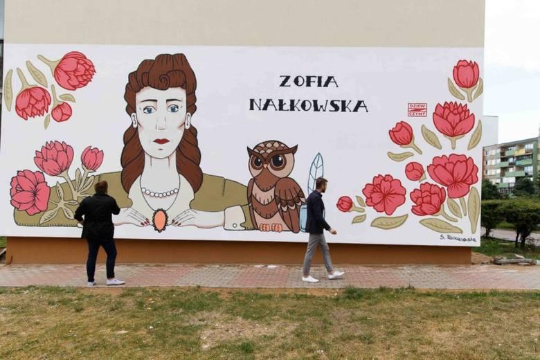Ul. Berlinga 21. Nowy mural w mieście (zdjęcia)