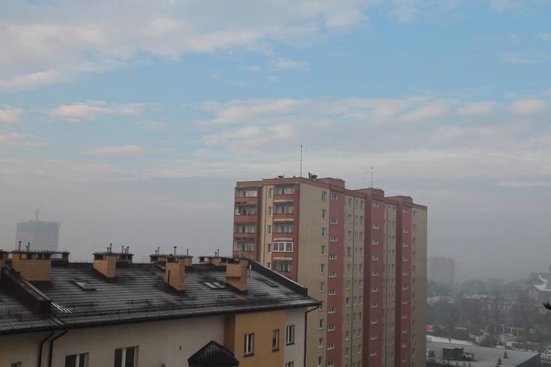Kraków. Smog nad Prądnikiem Czerwonym [ZDJĘCIA]
