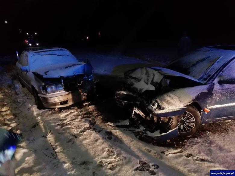 Poważny wypadek miał miejsce w środę około godzinny 17.