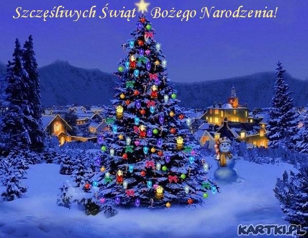 Kartki Świąteczne na Boże Narodzenie 2016. E kartki