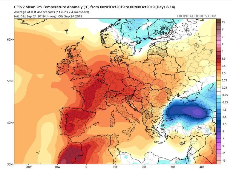 Pogoda na październik 2019: długoterminowa prognoza pogody. Czeka nas śnieg i mróz na horyzoncie? Będzie złota jesień, czy szybki atak zimy?