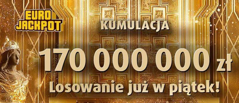 EUROJACKPOT WYNIKI 12.04.2019. Eurojackpot Lotto losowanie 12 kwietnia 2019. Do wygrania jest 170 mln zł! [wyniki, numery, zasady]