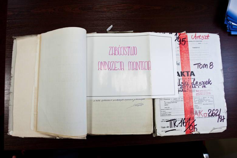 Akta sprawy Andrzeja Mantaja liczyły kilkanaście tomów