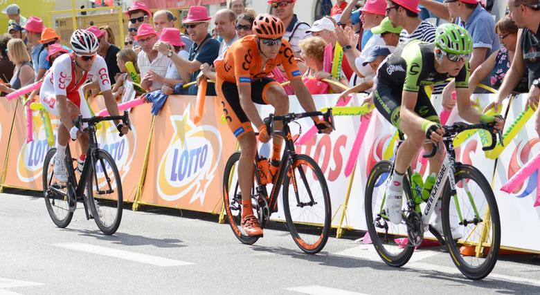 Mówi się, że Tour de Pologne kreuje nowe gwiazdy kolarstwa, a nikt nie jest do tego bardziej predystynowany niż Matej Mohorič (pierwszy z prawej). Mistrz