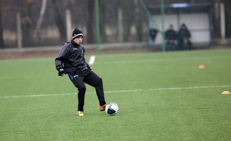 ŁKS Łódź ma za sobą pierwszą grę wewnętrzną. Padły trzy bramki [ZDJĘCIA]