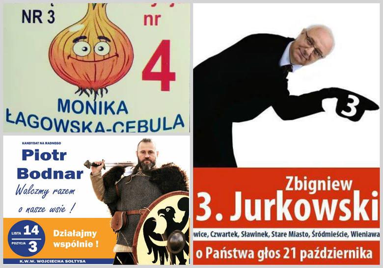 Wybory Samorządowe 2018 Na Wesoło Najlepsze Plakaty