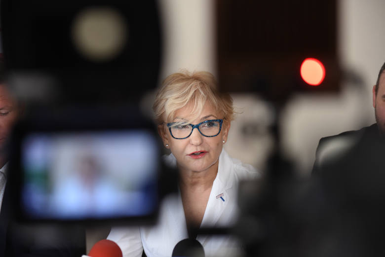 Posłanka Porozumienia Iwona Michałek: Partia popiera Jarosława Gowina, jesteśmy jednością