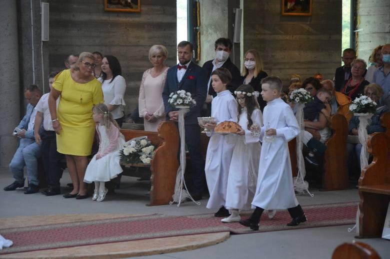 Pierwsza Komunia Święta w parafii p.w. Jakuba Apostoła w Łebie