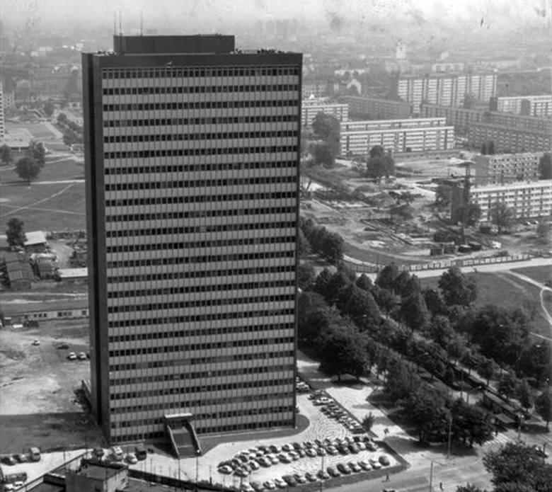 Budowa Poltegoru w latach 1968 - 1982