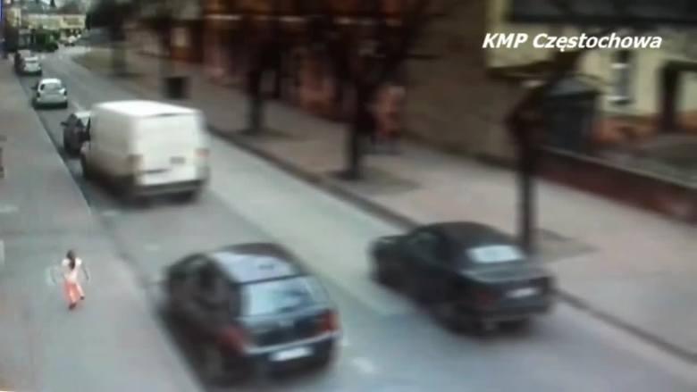 3-letnia dziewczynka lekko ubrana i bez opieki biegała po ulicy