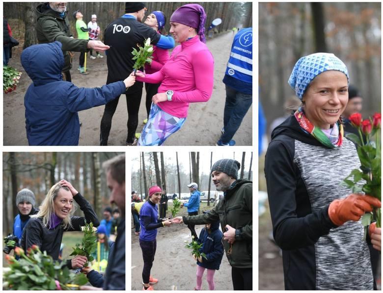 W sobotę odbył się Parkrun 245 w Toruniu. Tym razem niespodzianka w postaci kwiatów czekały na panie z okazji Dnia Kobiet. Zobaczcie zdjęcia.