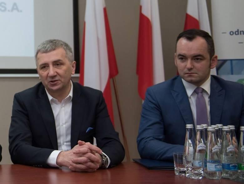 Wojciech Ignacok (z lewej)