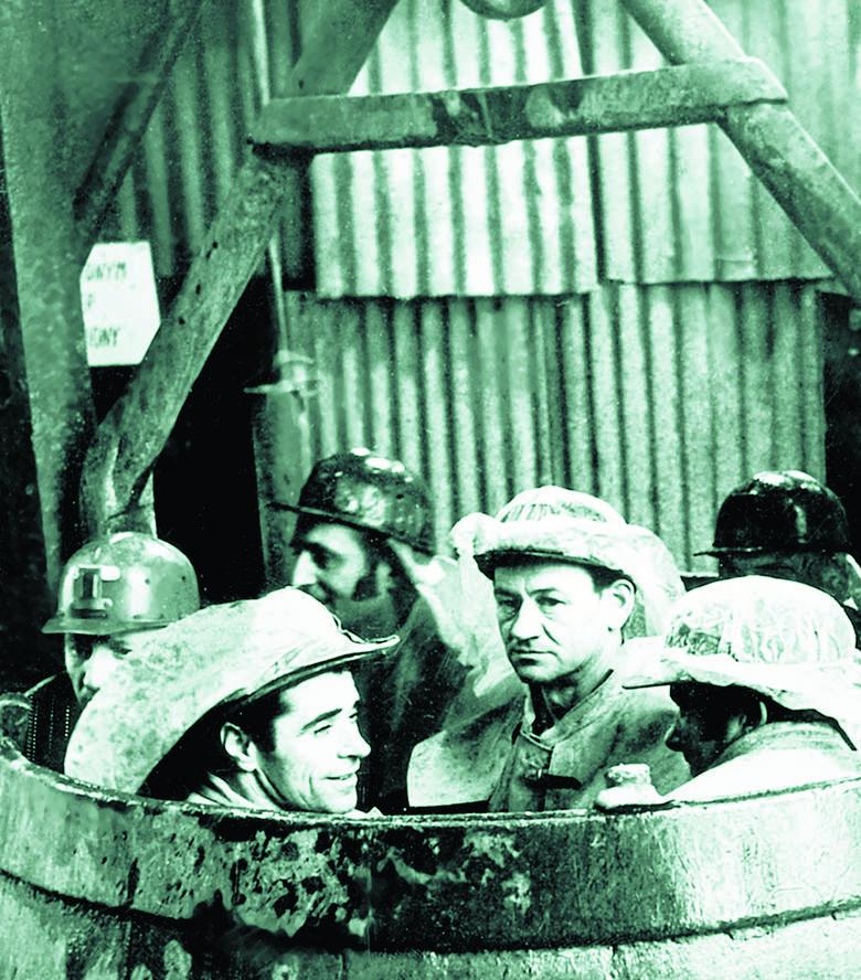 Przy budowie pierwszych szybów górnicy napotykali liczne niespodzianki