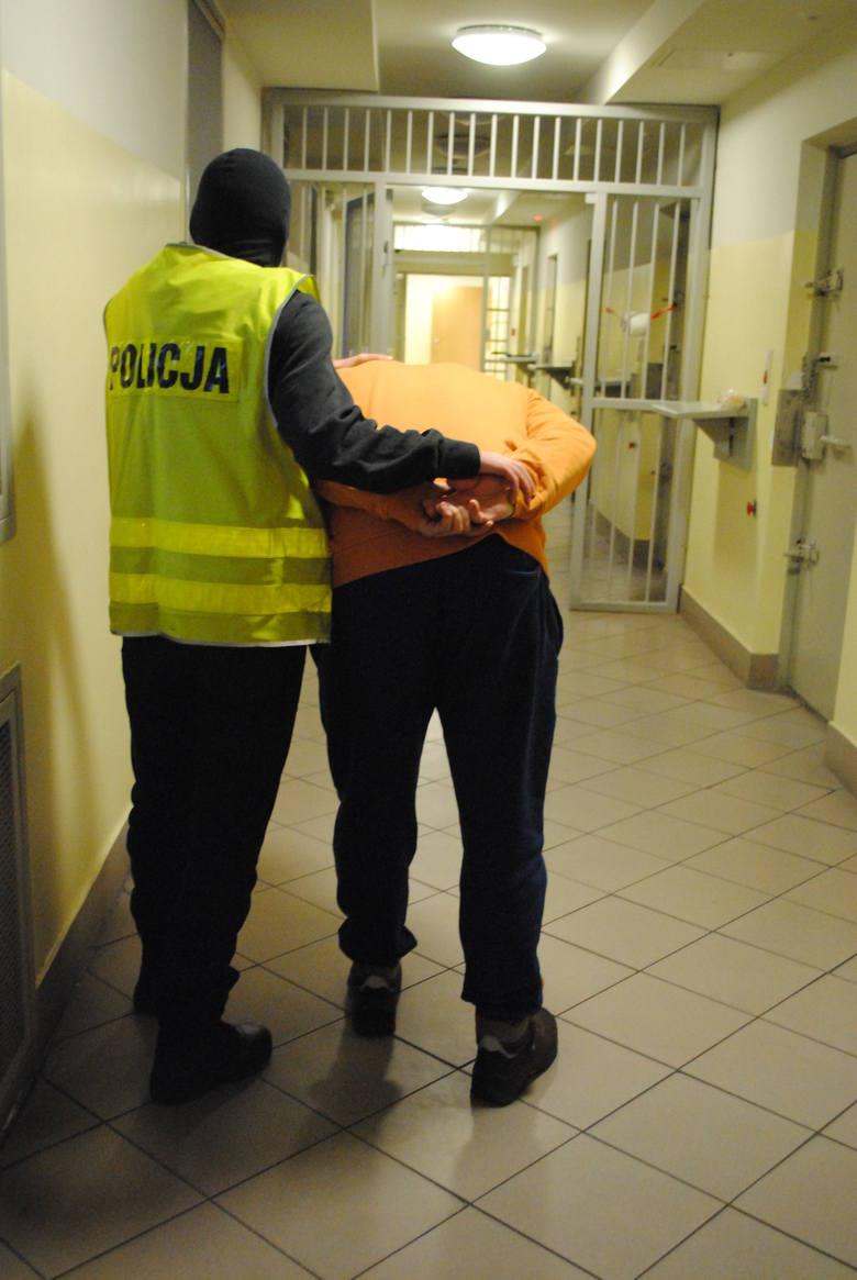 Napad na firmę kurierską w Piotrkowie Trybunalskim [ZDJĘCIA+FILM]