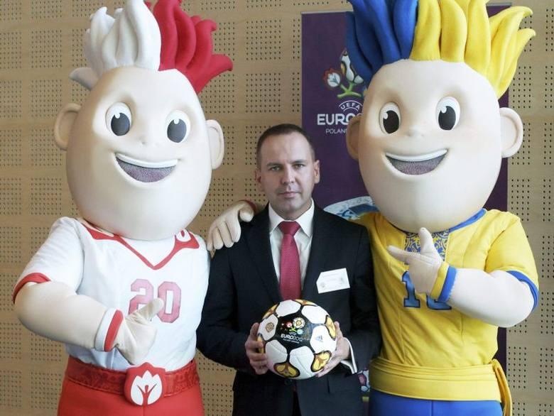 Sebastian Dyrszka, członek zarządu Kolportera Spółka Akcyjna, odpowiedzialny za kontrakt z UEFA.