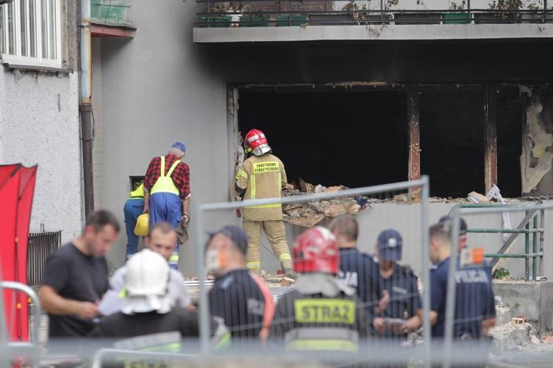 Wybuch gazu w Bytomiu nastąpił na ul. Katowickiej, w ścisłym centrum miasta