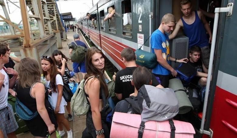 Rozkład jazdy pociągów na Pol'and'Rock Festival 2019