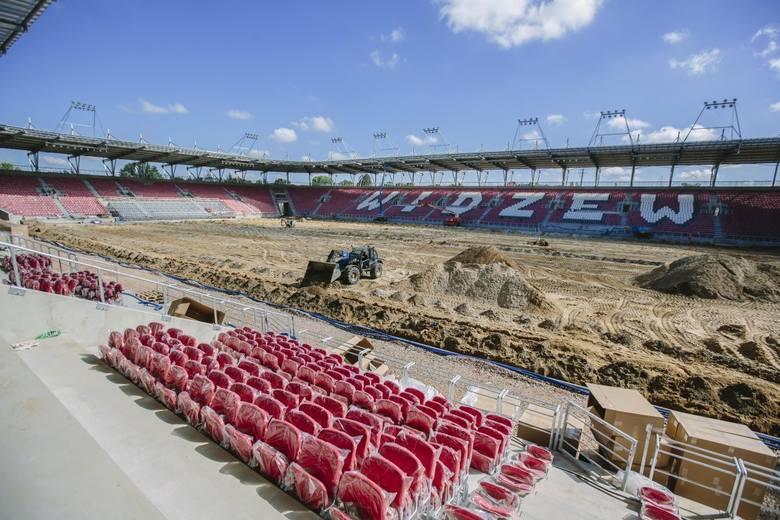 Widzew - budowa stadionu