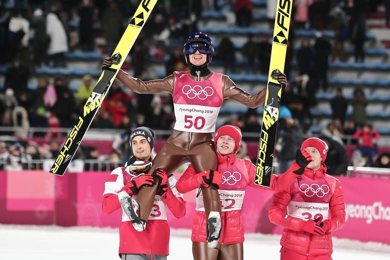 Kamil Stoch zdobył olimpijskie złoto na dużej skoczni w Pjongczangu