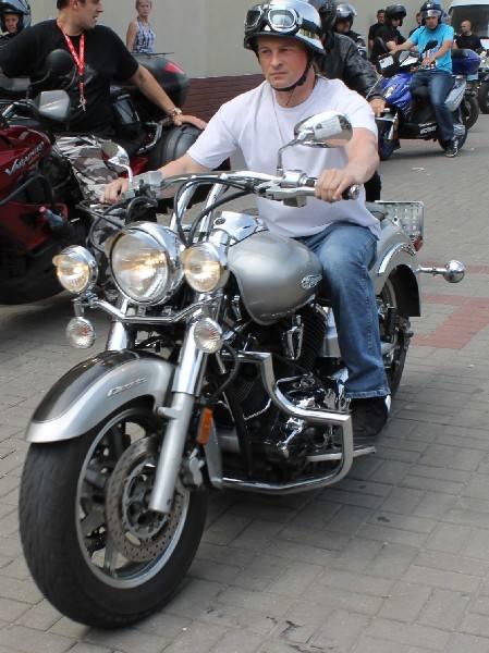VIII Burn Out Party - zlot motocyklowy w  Starym Oleśnie