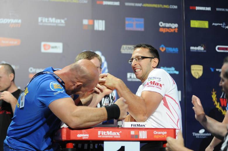 Mistrzostwa świata w armwrestlingu w Gdyni. Polscy siłacze pokazali klasę [ZDJĘCIA]