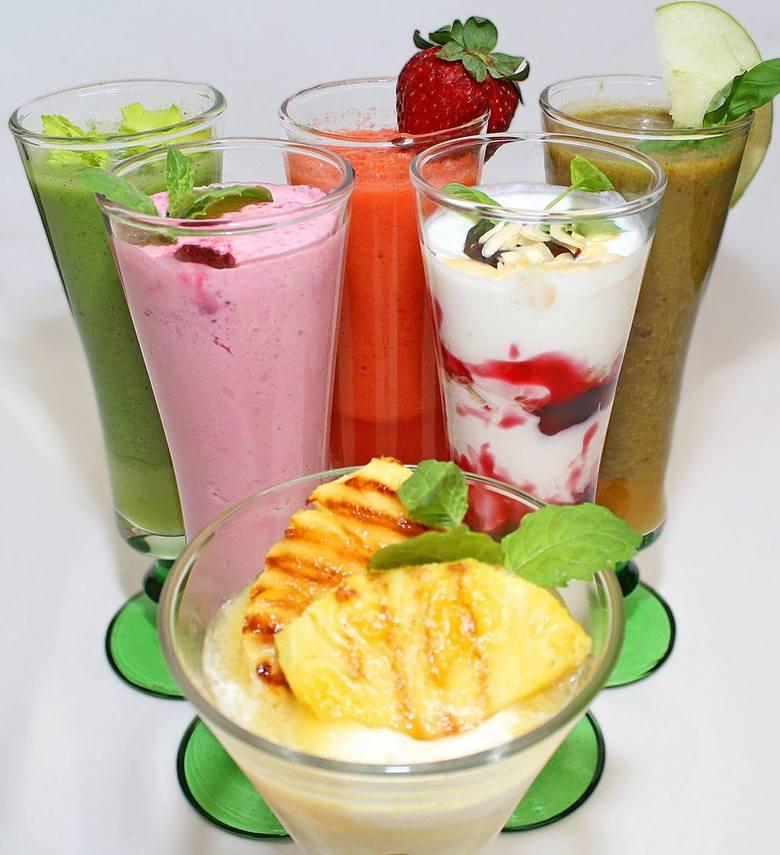 Naturalne smoothie koktajle to wiosenna propozycja kieleckich restauracji Patio i Flamingo.