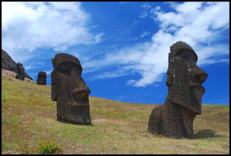 Moai - symbol Wyspy Wielkanocnej