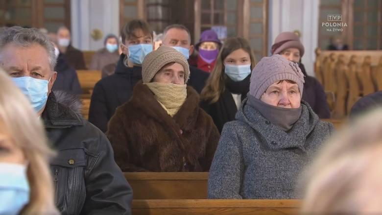 Suchowola. Kościół pw. Świętych Apostołów Piotra i Pawła. Msza św. w 39. rocznicę wprowadzenia w Polsce stanu wojennego