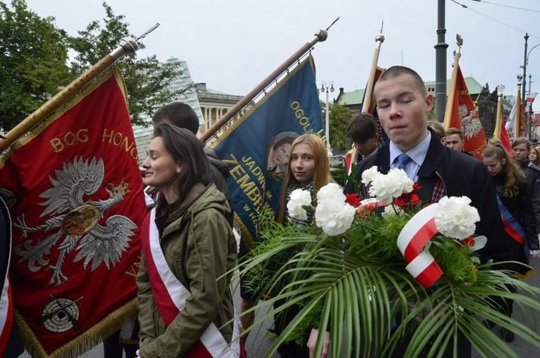 Obchody rocznicy napaści ZSRR na Polskę w Poznaniu.