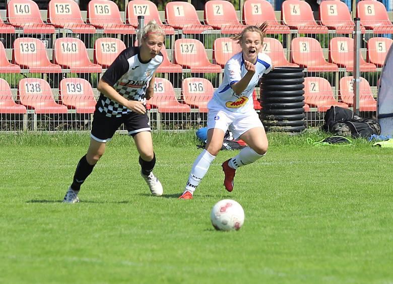 Piłka nożna kobiet. Przegrany sparig TME Grot SMS ZDJĘCIA
