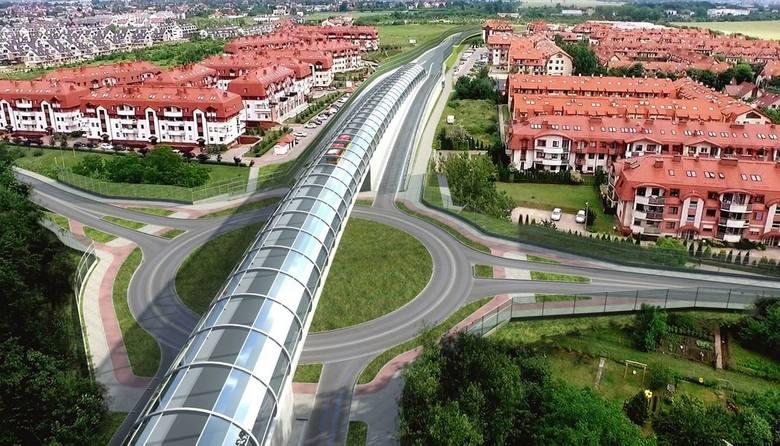 """Wschodnia obwodnica Wrocławia to jedna z kluczowych inwestycji drogowych w ostatnich latach w aglomeracji wrocławskiej. Pierwszy """"odcinek"""""""