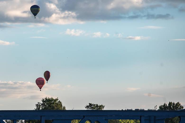 Balonowe loty nad Krakowem