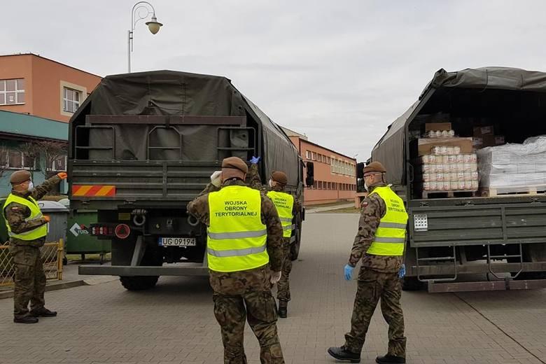Koronawirus Ostrołęka. Kolejne 9 ton żywności trafiło do Ostrołęki
