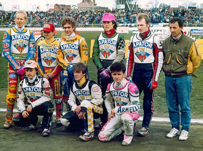 Gwiazdy Apatora Toruń z lat dziewięćdziesiątych. Pamiętacie?